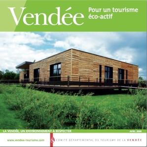 page de couv guide eco-toursime CDT Vendée