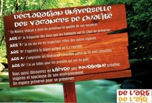 Vacances ecologiques Nièvre