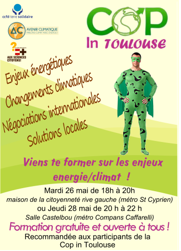 flyer cop in Toulouse