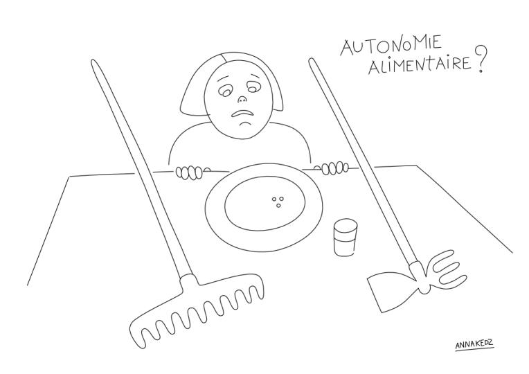 résilience alimentaire copyright Anna Kedz